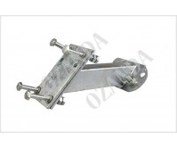 Spare Wheel Tyre Holder Trailer Part Bracket Galvanized Carrier Tyre