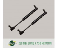 1 Pairs Gas Strut / Springs  250MM Long - 150NEWTON Caravan Camper Trailer Canopy Lift Support Prop