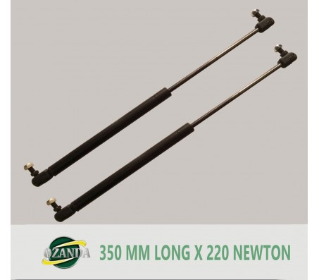 1 Pair Gas Strut / Springs  350MM Long - 220NEWTON Caravan Camper Trailer Canopy Lift Support Prop