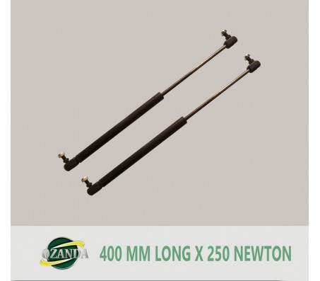 1 Pair Gas Strut / Springs  400MM Long - 250NEWTON Caravan Camper Trailer Canopy Lift Support Prop