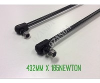 gas struts. pair 432mm long x 170 newton . caravan, camper trailer, tradesman