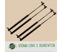 2 Pair Gas Strut / Springs  500MM Long - 350NEWTON Caravan Camper Trailer Canopy Lift Support Prop