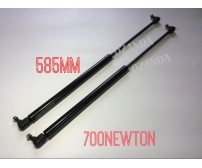 gas struts. pair 585mm long x 700newton . caravan, camper trailer, tradesman