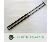1 Pair Gas Strut / Springs  700MM Long - 1000NEWTON Caravan Camper Trailer Canopy Lift Support Prop