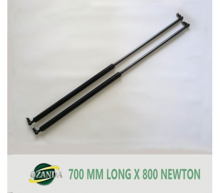 1 Pair Gas Strut / Springs  700MM Long - 800NEWTON Caravan Camper Trailer Canopy Lift Support Prop