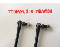 gas struts. pair 700mm long x 900 newton . caravan, camper trailer, tradesman