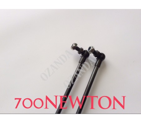 gas struts. pair 830 mm long x 700 newton . caravan, camper trailer, tradesman