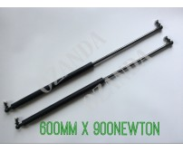gas struts. pair 600mm long x 900 newton . caravan, camper trailer, tradesman