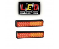 2 x LED Trailer Tail Light Brake Indicator Tail 12-24V Submersible 200BSTIM