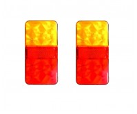 2 x LED Trailer Tail Light Lamp Brake Indicator 10 LED Tail 12V Part Submersible