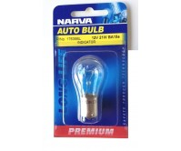 NARVA AUTO BULB LAMP LIGHT 12V 21W BA15S INDICATOR P/No. 17635BL