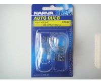 NARVA BULB WEDGE T20mm 12V 21/5W BLISTER (2) 47534BL