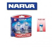 NARVA H4 GLOBES PLUS 100 LONG LIFE BULB 12V 60/55W LIGHTS HEADLIGHTS 48342BL2