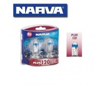 NARVA H4 GLOBES PLUS 120 LONG LIFE BULB 12V 60/55W LIGHTS HEADLIGHTS 48362BL2