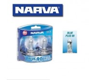 NARVA H4 GLOBES BLUE PLUS 90 BULB 12V 60/55W LIGHTS HEADLIGHTS 48532BL2