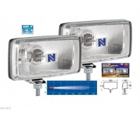 NARVA MAXIM 180/85 RECTANGLE DRIVING LIGHT KIT SPOT SPREAD 100W NARVA P/No.72250