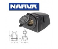 Narva Heavy-Duty Surface Mount Accessory Socket 81025BL