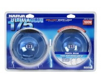Narva Ultima Blue Pencil Beam Driving Lamp 12V 100W 175mm Offroad 4WD 71650BE