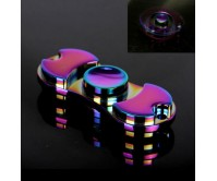 Fashion Style Rainbow Fidget Spinner Hand Finger Spinner ADHD EDC Focus Stress Releaver Toy Gift For Kids Adults Autism