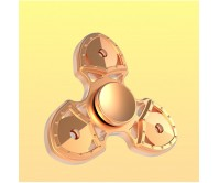 Gold SAK Style Aluminium Tri-Fidget Spinner Hand Finger Spinner ADHD EDC Focus Stress Releaver Toy Gift For Kids Adults Autism