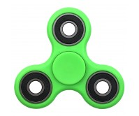 Tri Fidget Hand Finger Spinner Focus Stress Reliever-Green
