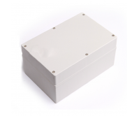 Waterproof Plastic Electronic Projector Box Enclosure Terminal Switch Power Junction Box 240x160x120mm