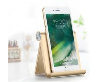 Gold Desk Stand Holder Mount Rack Station For iPhone 7 6s Plus 5s iPad Mini iPad Pro Tablets Samsung Galaxy HTC Phone