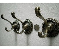 6PCS Vintage Retro Home Kitchen Bathroom Hat Coat Tie Key Clothing Towel Wall Door Hanger Support Hook